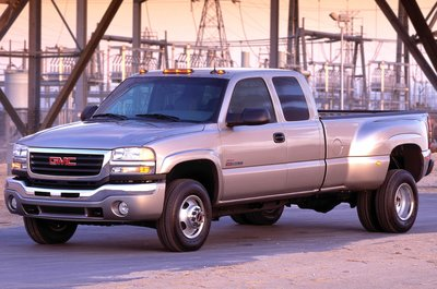 2005 GMC Sierra 3500 Crew Cab Long Bed