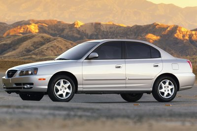 2005 Hyundai Elantra 4-Door