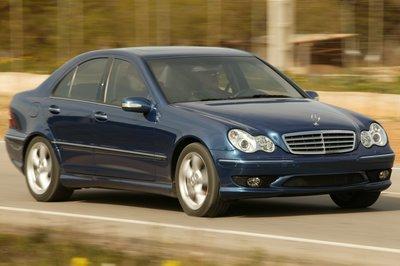 2005 Mercedes-Benz C-class sedan