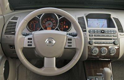2005 Nissan Altima Instrumentation
