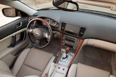 2005 Subaru Outback Wagon Interior