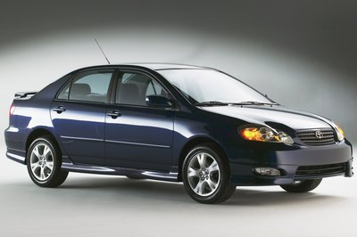 2005 Toyota Corolla XRS Sport Sedan