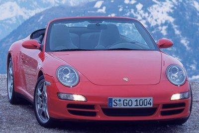 2006 Porsche 911 Carrera Cabriolet