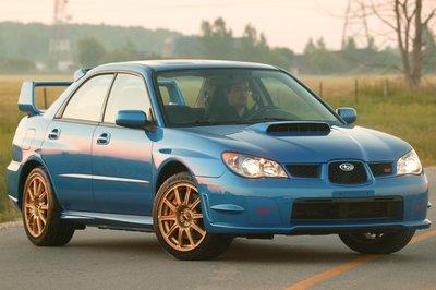 2006 Subaru Impreza WRX STI Sedan