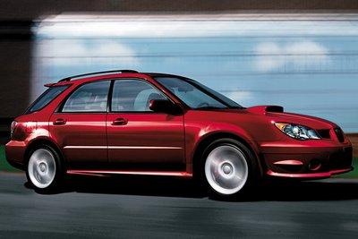 2006 Subaru Impreza WRX Wagon