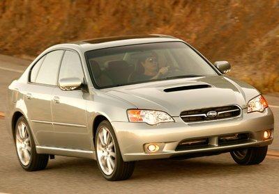 2006 Subaru Legacy spec.B Sedan