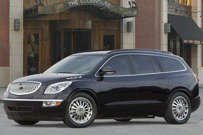 2007 Buick Enclave Black Platinum Edition