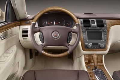 2008 Cadillac DTS Platinum Instrumentation