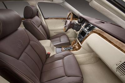 2008 Cadillac DTS Platinum Interior