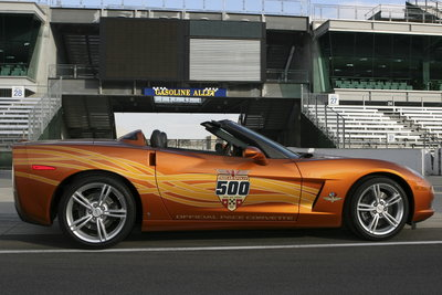 2007 Chevrolet Corvette Convertible Indianapolis 500 Pace Car Replica