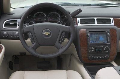 2007 Chevrolet Tahoe Instrumentation