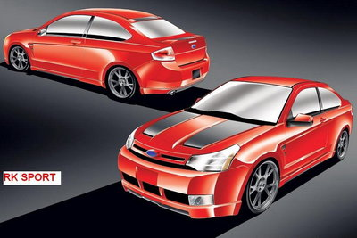 2007 Ford 2008 Focus by RKSport, Inc.