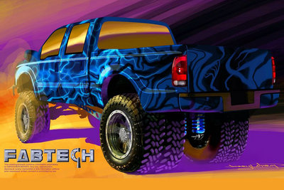 2007 Ford F-350 Super Duty by Fabtech