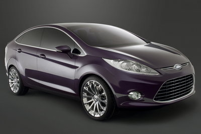 2007 Ford Verve Concept Guangzhou