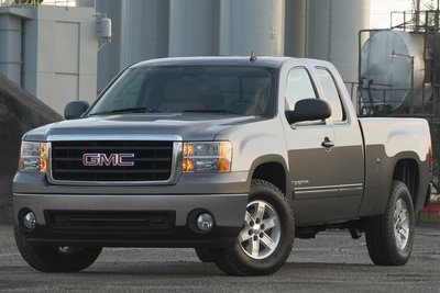 2007 GMC Sierra Extended Cab