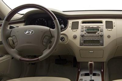 2007 Hyundai Azera Instrumentation