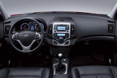 2007 Hyundai i30 Instrumentation