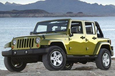 2007 Jeep Wrangler 4d