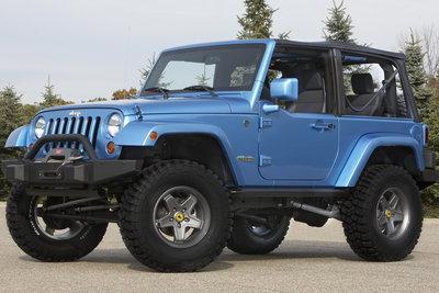 2007 Jeep Wrangler All-access