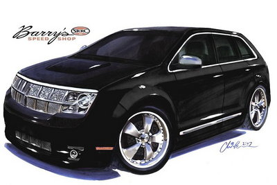 2007 Lincoln MKX by Barry's Speed Shop