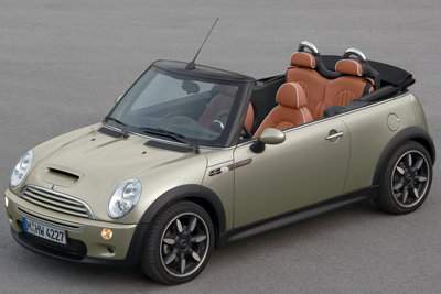2007 Mini Cooper Convertible (Sidewalk Package)
