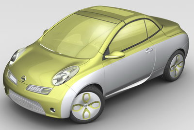 2007 Nissan Micra Colour + Concept show car