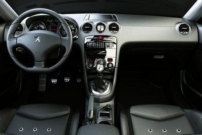 2007 Peugeot 308 RC Z Instrumentation