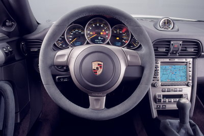 2007 Porsche 911 GT3 Instrumentation