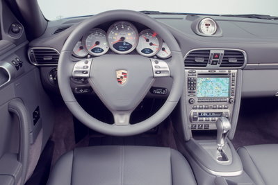 2007 Porsche 911 Turbo Instrumentation