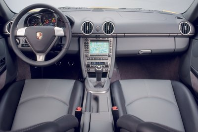 2007 Porsche Cayman Instrumentation