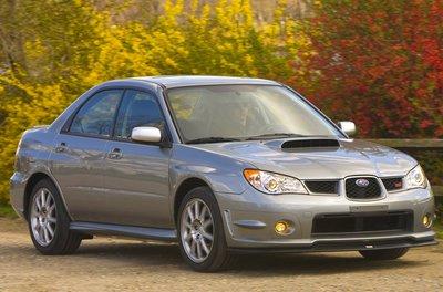 2007 Subaru Impreza WRX STI Limted Sedan