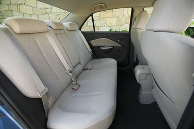 2007 Toyota Yaris sedan Interior