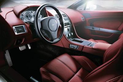 2008 Aston Martin V8 Vantage Convertible Instrumentation