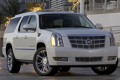 2008 Cadillac Escalade ESV Platinum