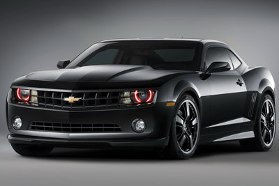 2008 Chevrolet Camaro Black