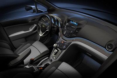 2008 Chevrolet Orlando Instrumentation