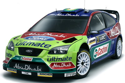 2008 Ford Focus RS World Rally Car