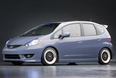 2008 Honda Tjin Edition Fit project