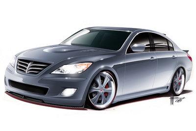 2008 Hyundai Genesis by RKSport