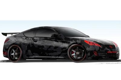 2008 Hyundai Street Concepts Genesis Coupe