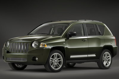 2008 Jeep Compass Overland prototype