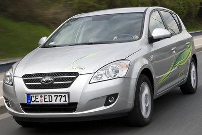2008 Kia cee'd hybrid