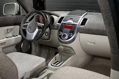 2008 Kia Soul Searcher Interior