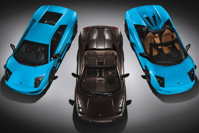 2008 Lamborghini Murcielago LP640 and Gallardo Spyder (2008 Detroit Auto Show Cars)