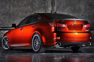 2008 Lexus IS 350 with F-Sport Accessories