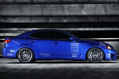 2008 Lexus IS F by Import Tuner Magazine