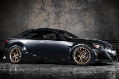 2008 Lexus Project IS F by Five Axis
