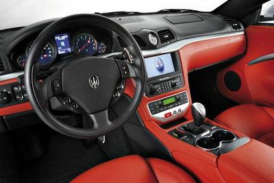 2008 Maserati GranTurismo Instrumentation