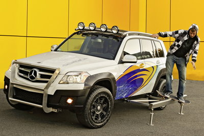 2008 Mercedes-Benz GLK Four Corners Rock Crawler by Legendary Motor Cars