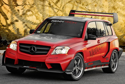 2008 Mercedes-Benz GLK Rally Racer by RENNTech